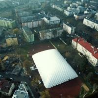Hala Pneumatyczna Warszawa ul. Białowieska