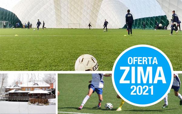Zimowe zgrupowania piłkarskie - Nadrzecze 2021